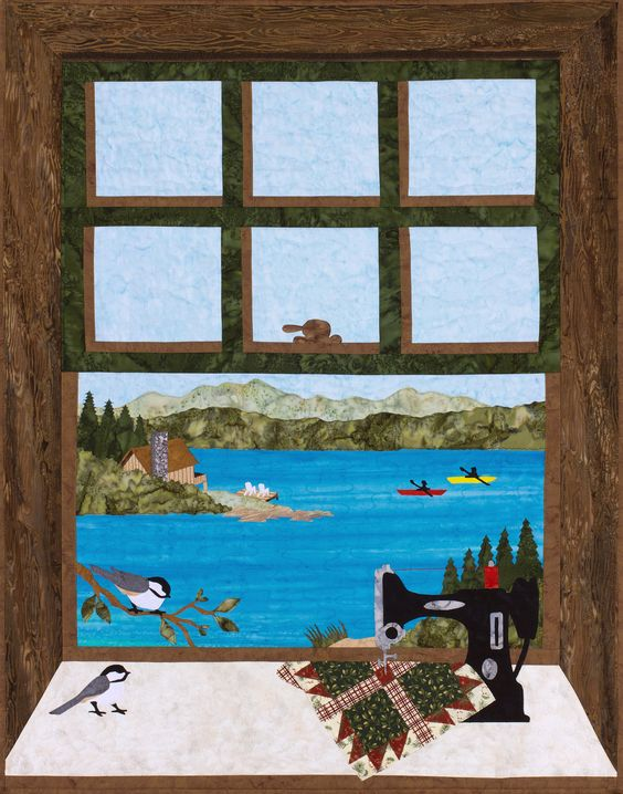 Quilting at the Lake | Sweet Season Quilts: