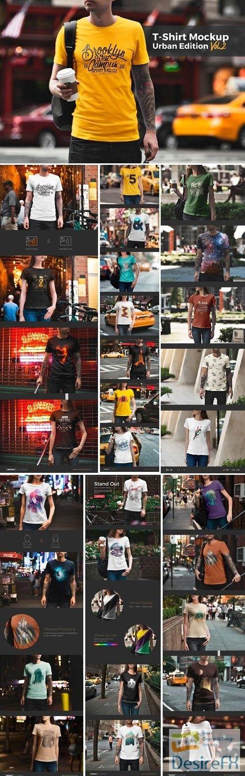 Download T Shirt Mockup Urban Edition 1664349 Tshirt Mockup Shirt Mockup T Shirt