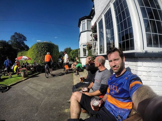 Time for a pint much needed and feeling my legs big time.  #mtb #enduromtb #downhill #airdrop #edit #loam #instagood #instalike #photooftheday #instamovie #bike #gopro #goprophotography #goprooftheday #goprouniverse #gopronation #mountainbiking #strava #me #sports #maxxis #uk #joystickcomponents #rideyourbike #yorkshiredales #hamsterley #picoftheday #ardrock #moors #pint