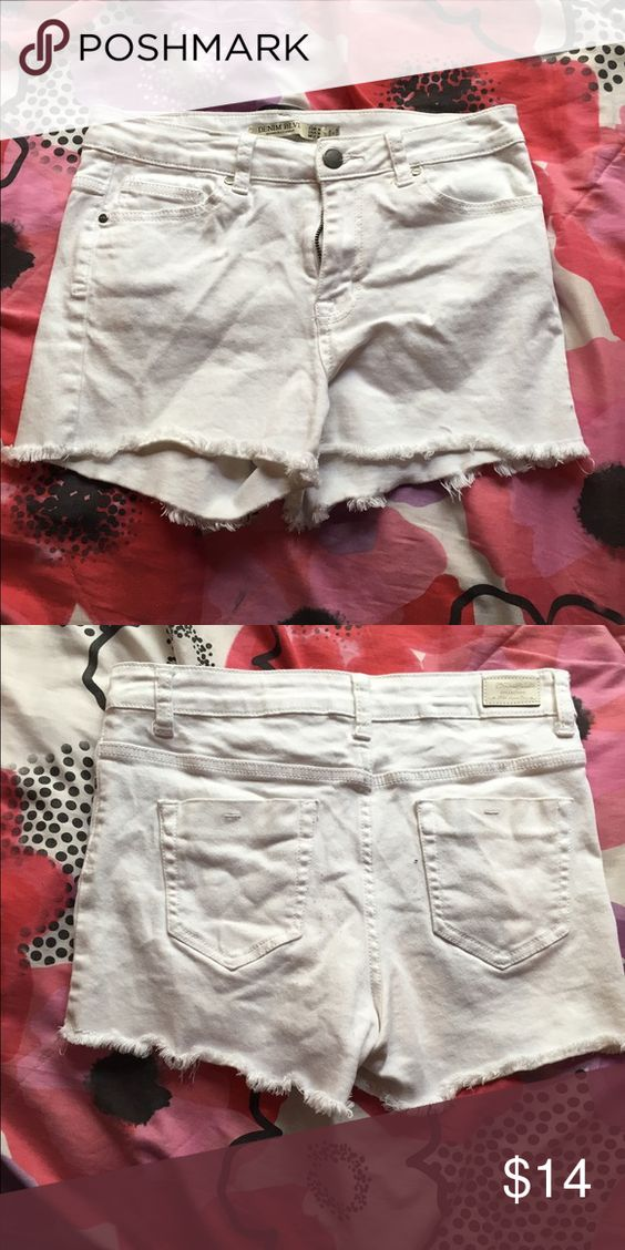 White shorts Good condition worn four times Shorts Skorts