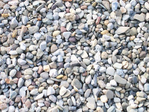 Pea Gravel From Home Depot Beach Frame Stone Decor Landscaping