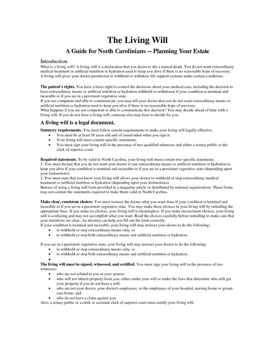 1046255png - living will examples Legal Documents Pinterest - living trust form