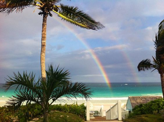 Harbour Island ~double rainbow for your pleasure.