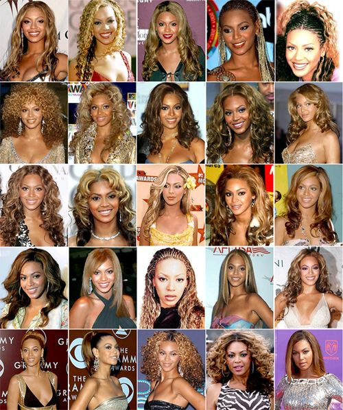 feather cut hairstyle : Beyonces #Hair Evolution: 25 of the Singers Hottest #Hairstyles