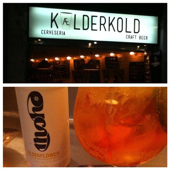If you ever go to Barcelona, Spain and like craft beer or cider - please go to Kaelderkold. Everything about it was amazing!