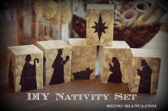 Diy Nativity Set Durable Enough That I Don 39 T Mind My