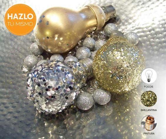 Crea maravillosas esferas para tu arbolito de #Navidad. ¡Inténtalo!