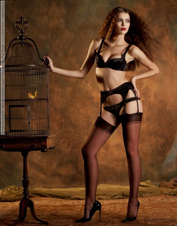 Natasha Barnard for Agent Provocateur lingerie Ad campaign (Fall-Winter 2012) photo shoot