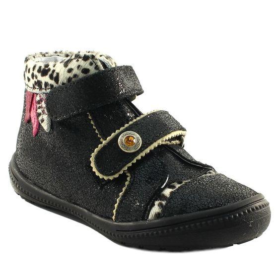 064A CATIMINI AUTRUCHE NOIR www.ouistiti.shoes le spécialiste internet  #chaussures #bébé, #enfant, #fille, #garcon, #junior et #femme collection automne hiver 2016 2017