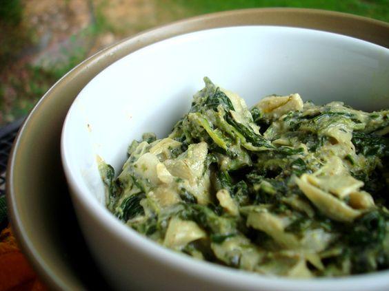 Paleo spinach artichoke dip... mmmmmmmm
