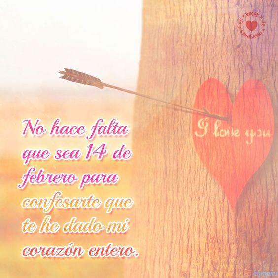 Hermosa Imagen De Amor De Corazon Flechado En Un Arbol Con Hermoso Mensaje Para Compartir Corazones Corazones De Amor Imagenes De Corazones Flechados