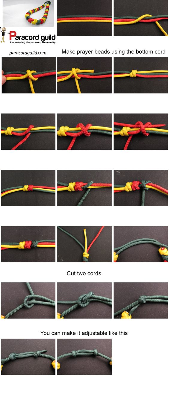 How To Make A Paracord Necklace Paracord Guild Makrame