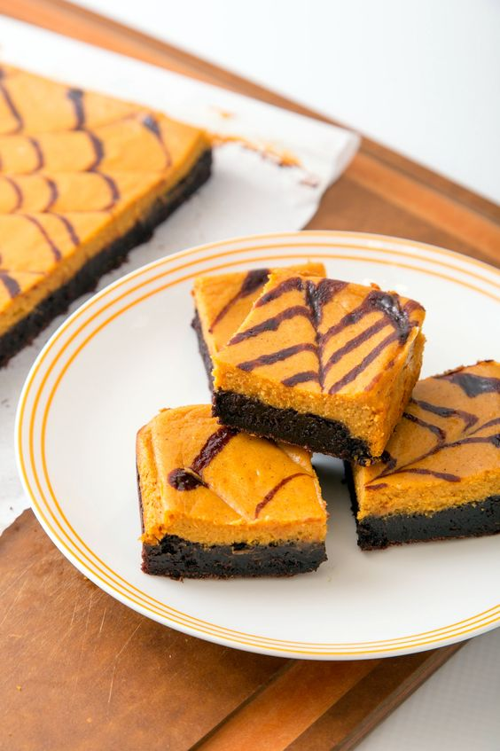 Pumpkin Cheesecake Brownie   The Missing Lokness @lokness