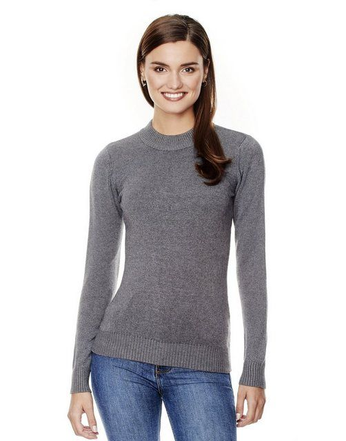 Pullover mit geripptem Stehkragen   Products in 2019
