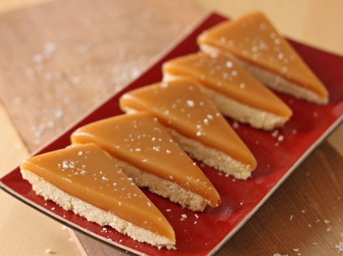 Salted Caramel Bars - SugarHero