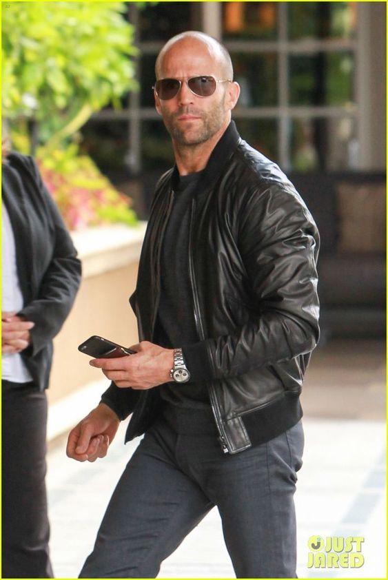 Jason Statham's wears aviator style sunglasses | EyeWearThese | #fashion #sunglasses