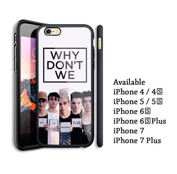 Why Don t We 4 iphone case