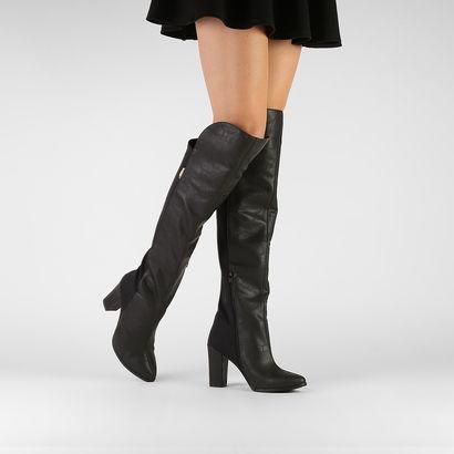 Compre Bota Beira Rio Over the Knee Preto na Zattini a nova loja de moda online da Netshoes. Encontre Sapatos, Sandálias, Bolsas e Acessórios. Clique e Confira!