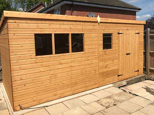 Garden Workshop Timber Garden Sheds Pre Built Sheds Shed