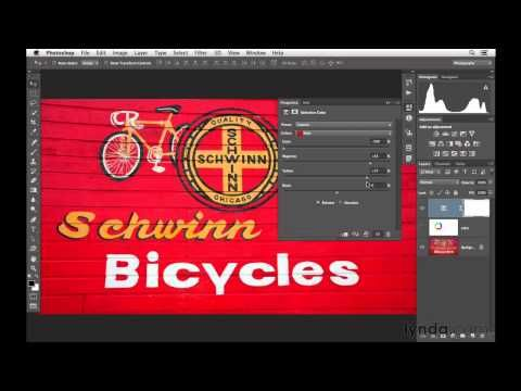 ▶ Photoshop tutorial: Introducing how to change color with Selective Color | lynda.com - YouTube