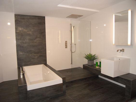 Badezimmer Fliesen Modern Badezimmer - Tomis Media - Tomis Media - mosaik im badezimmer
