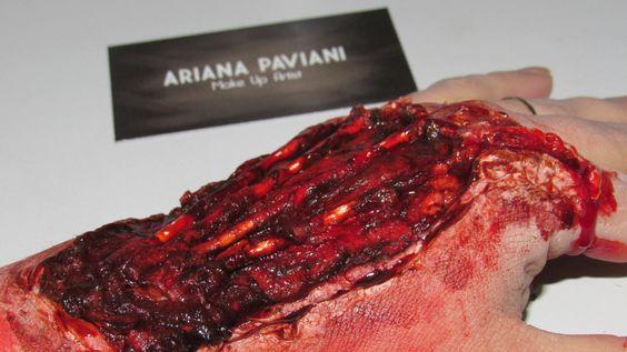 Make up FX, maquiagem artística,  efeitos especiais. Curtam minha fanpage www.facebook.com/ arianapavianimake