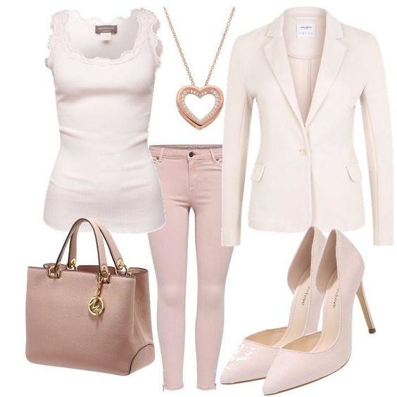 Ivory Nude Love Outfit Outfit für Damen zum Nachshoppen auf Stylaholic