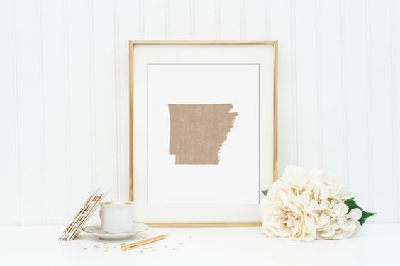 Arkansas Printable  INSTANT DOWNLOAD Printable  by CraftMei
