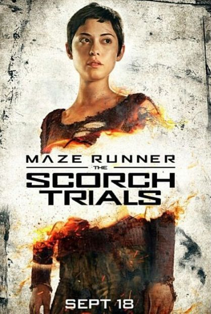 New scorch trials posters