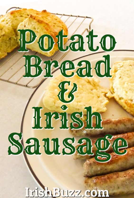 Irish Sausage & Potato Bread ('Boxty Bread')
