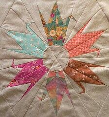 Origami patchwork, 2 loves combined!