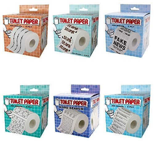 Island Dogs Novelty Toilet Paper Variety 6 Pack Lovely Novelty In 2020 Great Jokes Gag Gifts Funny Toilet Paper