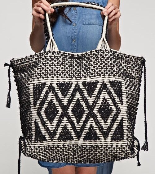 Tulum beach Tote from ascot   hart