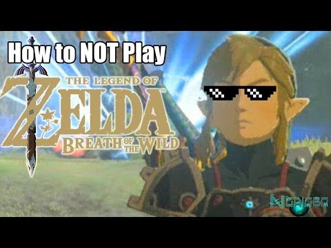 Zelda Breath Of The Wild Funny Moments Youtube Zelda Funny Zelda Breath Of Wild Breath Of The Wild