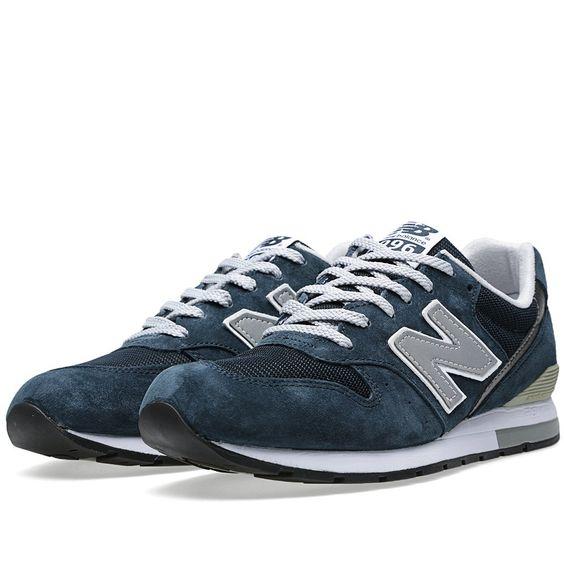 intersport de chaussure asics - BP9B Sneakers Running New Balance (NB) MRL996AN Heren Marine Grijs ...