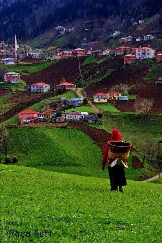 La Meseta de Ayder, Rize, Turquía