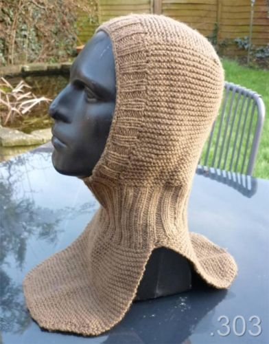 Knitting Pattern For Soldiers Hats : Military, Trench and Knitted balaclava on Pinterest