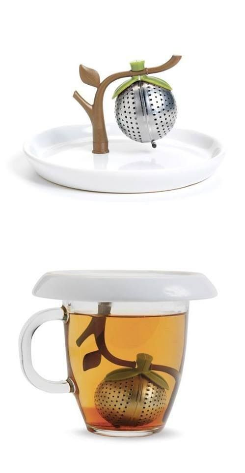 Tea infuser... Branch of a tree.