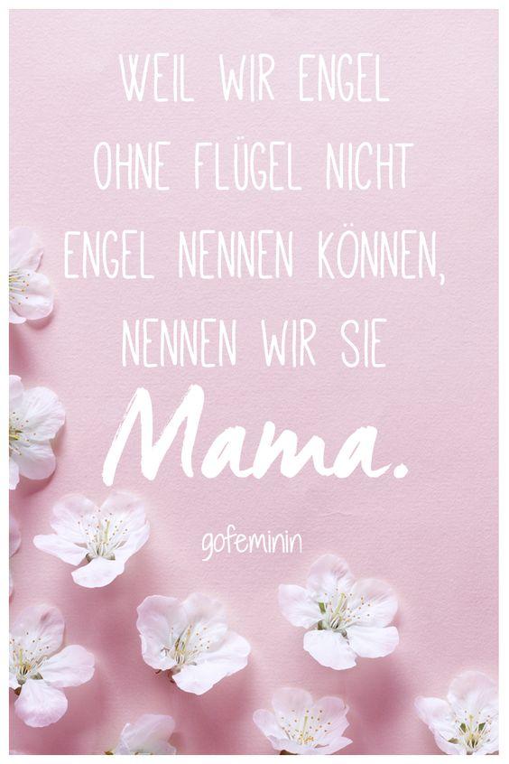 <3 Die schönsten Sprüche zum Muttertag findet ihr hier: http://www.gofeminin.de/mama/album1149125/spruche-zum-muttertag-0.html