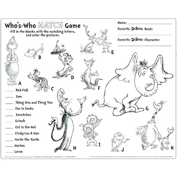 Dr Seuss Letters Printable Best Activities Images On Coloring Pages Printable Characters Free Bookmark Dr Seuss Coloring Pages Dr Seuss Day Dr Seuss Activities