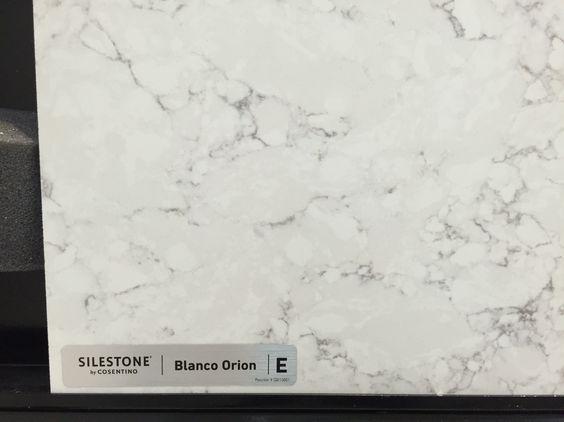 Silestone blanco Orion quartz counter top