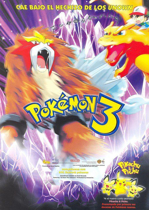 Watch Pokemon Spell Of The Unknown Full Movie Online Pokemon