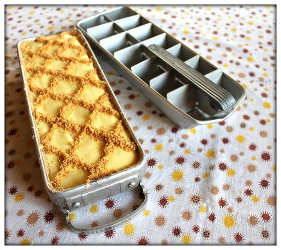 *~my house is cuter than yours~* Magic Lemon Ice Box Cake, vintage recipe