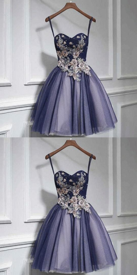 Cute Short Prom Dress With Tulle Lace And Sweetheart Neckline Cute Dress Hairstyle Hairstyles Lace Cute Short Prom Dresses Prom Dresses Short Prom Dress