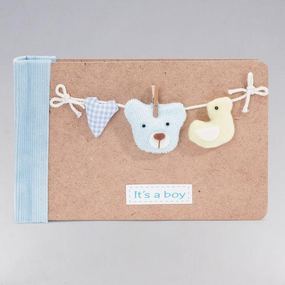 Álbum Bear Azul. ¡A mamá le va a encantar! Todo un detalle para el bebé, donde podrás guardar todos sus recuerdos: Álbum con capacidad para 100 fotos del peque. Medidas de fotos: 10 cm x 15 cm. #regalos #babygifts #bebés