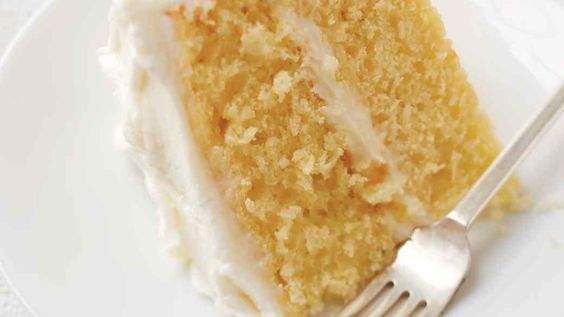 Simple Layer Cake with Vanilla Frosting