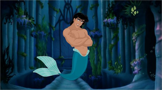 Set-18 Prince Eric . Merman by galaxcardinal.deviantart.com on @deviantART