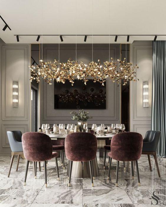 Furniture Luxxu Modern Design And Living Dining Room Design Modern Luxury Dining Room Dining Room Interiors