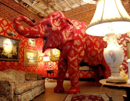Bansky's Elephant in the Room