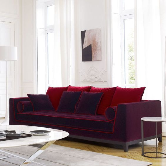 Canapé design original   en tissu   2 places - BUBBLE by Sacha